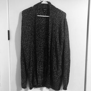 FOREVER 21 Favorite Open-Front Cardigan